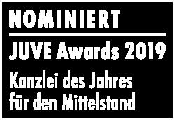 Auszeichnung nominiert Juve beste Kanzlei Mittelstand dresden chemnitz leipzig
